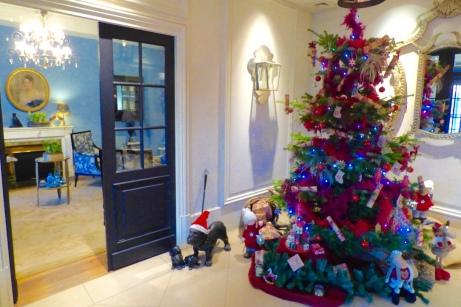 Le sapin de Noël est installé au Royal Hôtel Lyon