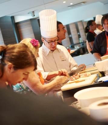 Un coffret gourmet à l'Hotel Le Royal Lyon par l'Ecole des Gourmets Institut Paul Bocuse