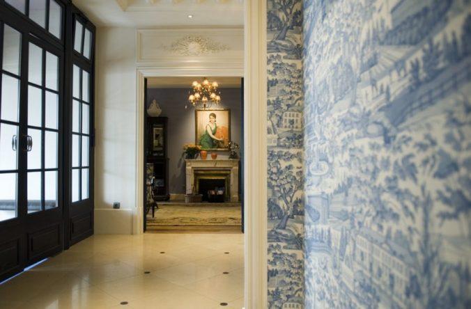 Hall d'entrée de l'hotel le royal lyon