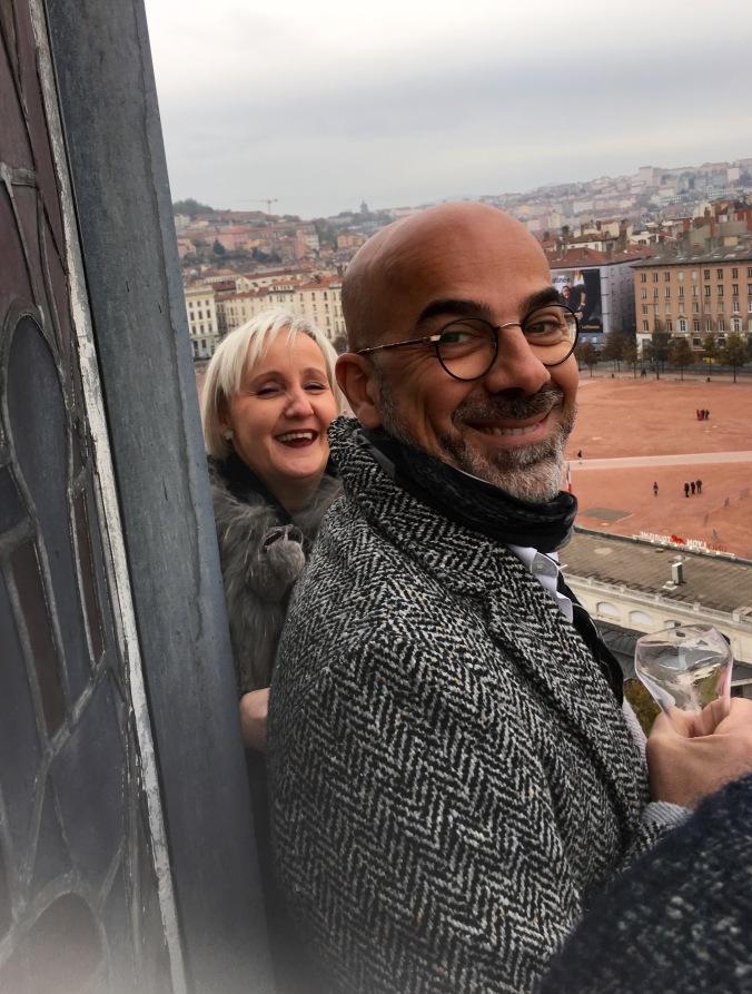 Les invités de l'hôtel le Royal Lyon pour les 50 ans du Groupe Accor