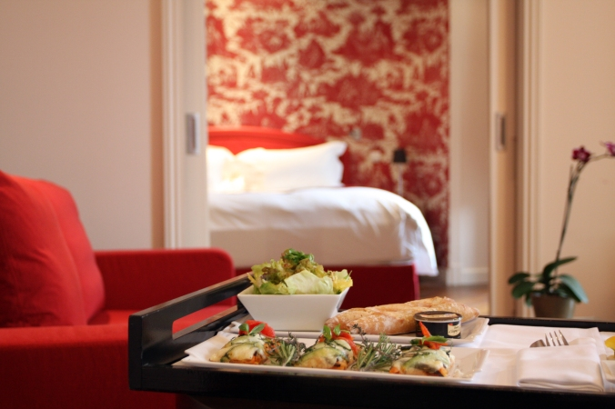 Une suite de l'hôtel Le Royal Lyon