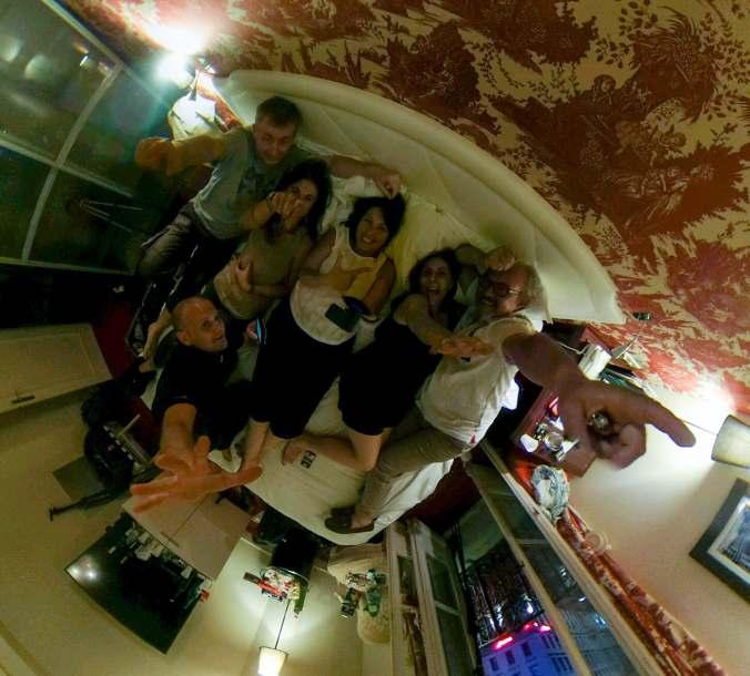 La Team Poussin au Royal Hôtel Lyon