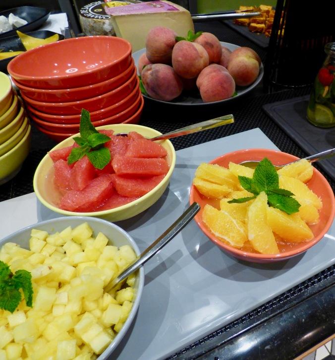 Le paradis du biologique à l'hôtel le Royal Lyon pour le petit déjeuner