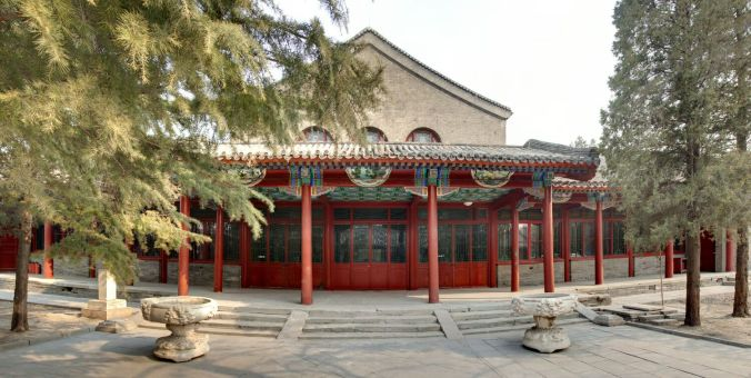 la Maison des arts de Pékin - Yishu 8 et Christine Cayol